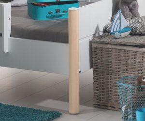 Dettaglio gamba letto trasformabile Ylvie, singolo