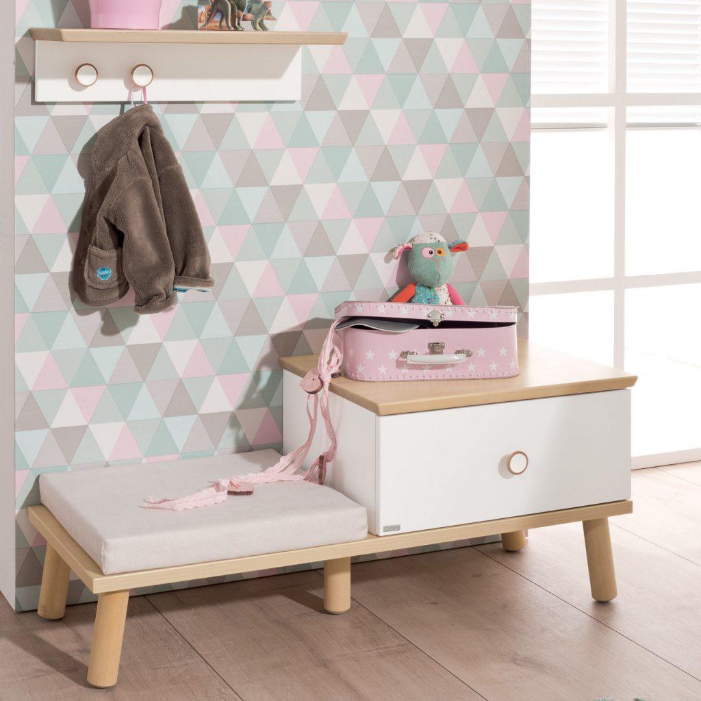 Pannelli Decorativi Per Camerette spazi a misura di bambino: la panchetta ylvie - spaziojunior