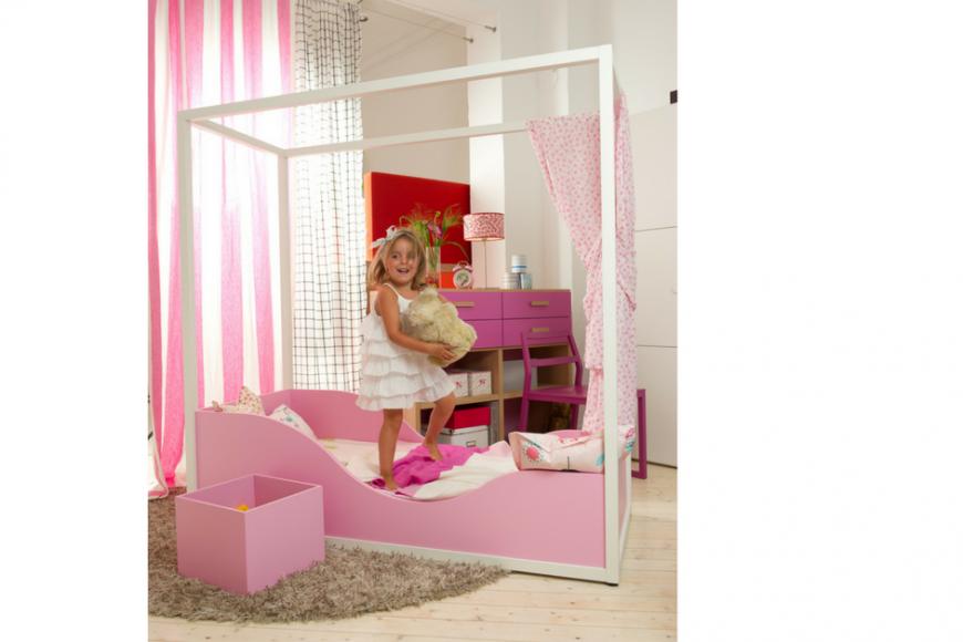 Una cameretta da principessa spaziojunior store - Cameretta da principessa ...