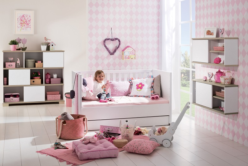 Cameretta per neonati bambini carlotta spaziojunior store for Arredamento camerette neonati