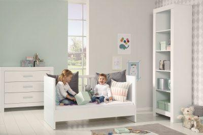 Un lettino per neonati polifunzionale