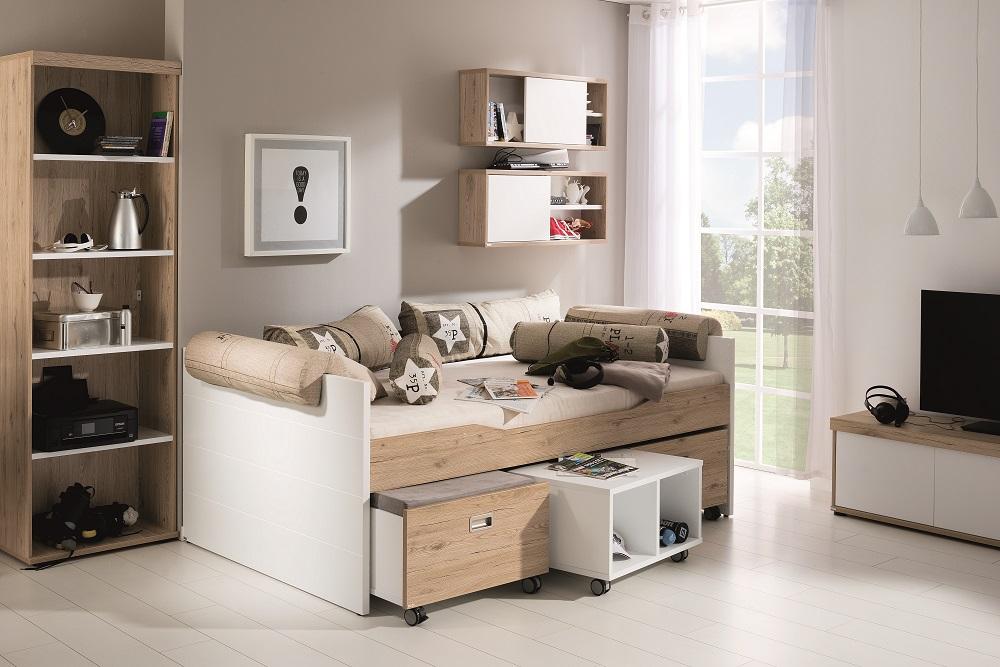 Un letto tante possibilit spaziojunior store - Letto singolo a divanetto ...