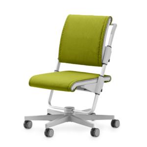 sedia per ragazzi scotter grigia modello trend colore LIME